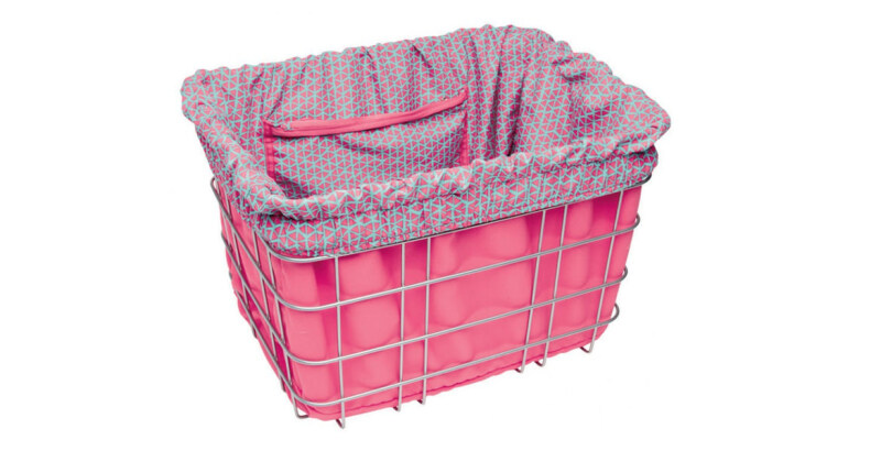 Electra Triangles, Pink w/ Light Blue, Basket Liner